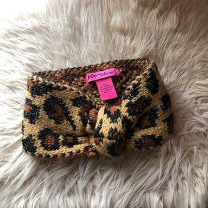 Betsey Johnson Animal Print Headband